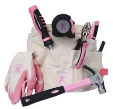 EVERY woman needs her own toolbelt! Tomboy Tools carries everything in Pink for us girls to DIY.