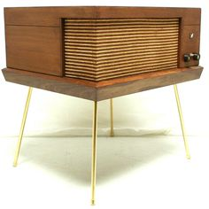 VINTAGE 50s 60s Mid Century Voice of Music Record Player