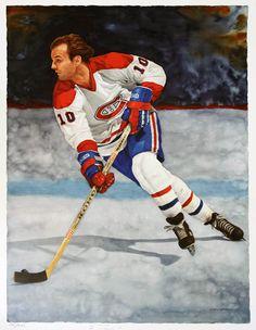 Guy Lafleur by Glen Green Sports Decor, Sports Art, Nhl Jerseys, Montreal Canadiens, Hockey Players, Ice Hockey, Wood Carving, Kids Playing, Illustrators
