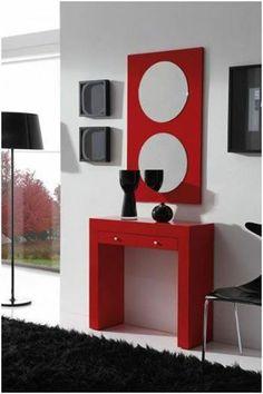 Mueble biblioteca escalonada repisa o divisor de ambientes for Colores para comedores modernos