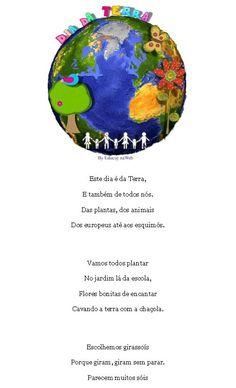 Poemas - DIA MUNDIAL DA TERRA :: Jardins Saudáveis