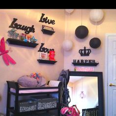 Baby girls nursery idea for the future