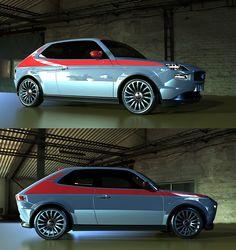 Fiat 127 Sport Abarth Concept by David Obendorfer