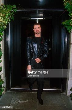 George Michael Outside The Caprice Restaurant In London 1995