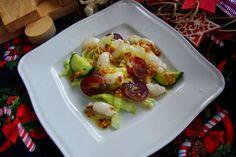 MojaKuchniaMalutka i reszta domu : Dietetyczna sałatka z liczi i winogrona