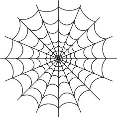 cupcake decorating ideas spider web outline clipart best holidays 12789