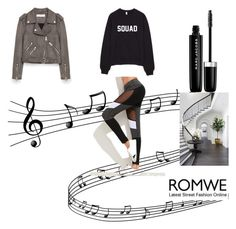 """""""Romwe"""" by malo-lama ❤ liked on Polyvore featuring Jakke, Marc Jacobs and WALL"""