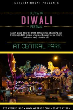 sep 30 11 stunning diwali posters to customize now postermywall