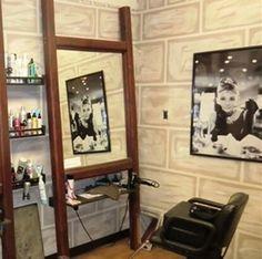 At home salon idea