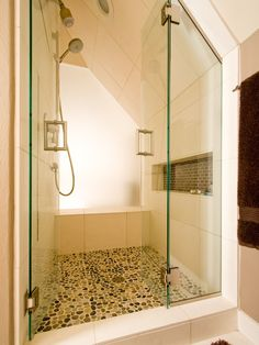 Modern Walk In Showers With Seat Design, Pictures, Remodel, Decor and Ideas - page 2