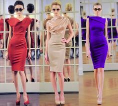 Victoria beckham dresses...just because they are simple....