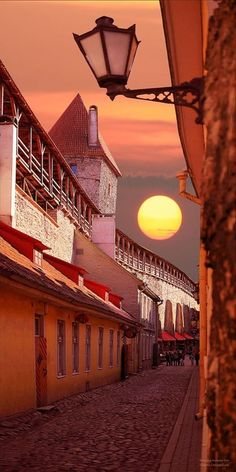 Sunset ~ Tallinn, Estonia