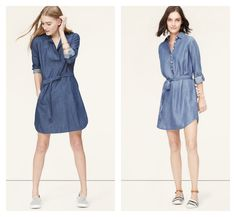 Latest additions to my wardrobe from Loft -now 40% {left} and 60% off {right}