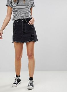 Levis Denim Skirt: http://shopstyle.it/l/tCyE