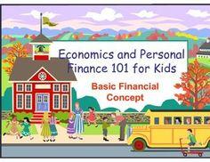 Economics and Personal Finance 101 for Kids : Basic Financ #parentingtipsforpreteens