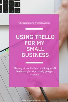 Trello for My Small Business Check out how I use Trello for my small business! Plus, I share tips to help you get started with Trello.Check out how I use Trello for my small business! Plus, I share tips to help you get started with Trello. Business Checks, Business Tips, Online Business, Business Leaders, Business Money, Creative Business, Small Business Organization, Small Business Management, School Organization