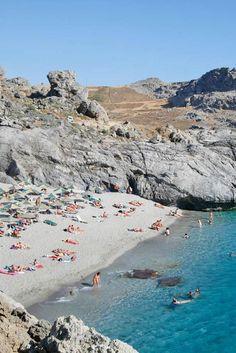 Ammoudi Beach in Plakias, Rethymno, Crete