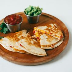Sweet pimentos and sharp cheddar cheese are held together with mayonnaise for a deliciously creamy quesadilla filling.