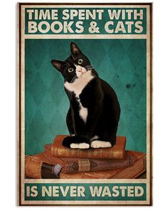 Crazy Cat Lady, Crazy Cats, Cute Cats, Funny Cats, Cat Posters, All About Cats, Cat Quotes, Cute Creatures, Funny Cartoons