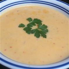 """Crawfish Bisque Recipe by Randy Brown """"This rich, creamy soup will knock you off your feet! Great as part of a large meal, but meaty enough to use as a full meal."""""""