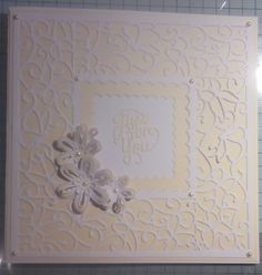 The butterfly striplet die makes a lovely border for this card
