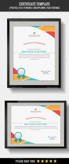 Multipurpose Certificates - Certificate Template PSD. Download here: http://graphicriver.net/item/multipurpose-certificates/15851129?s_rank=9&ref=yinkira
