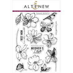 Ellen Hutson LLC - Altenew Clear Stamps, Wild Hibiscus, $21.00 (http://www.ellenhutson.com/altenew-clear-stamps-wild-hibiscus/)