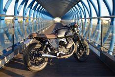 Moto Guzzi, Guzzi V7, Custom Sport Bikes, Motorcycle, Vehicles, Cafe Racer Handlebars, Motorcycles, Car, Motorbikes
