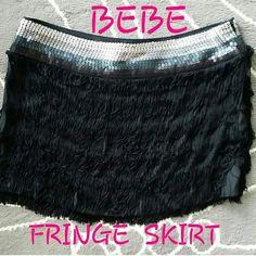 "Selling this ""BEBE FRING MINI SKIRT"" in my Poshmark closet! My username is: cb119600. #shopmycloset #poshmark #fashion #shopping #style #forsale #bebe #Dresses & Skirts"