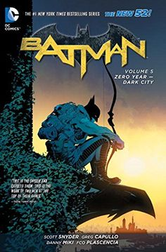 Batman Vol. 5: Zero Year - Dark City (Th - Batman Vol. 5: Zero Year - Dark City (The New 52) (Batman (DC Comics Paperback)) by Scott Snyder  140125...  #GraphicNovels #ScottSnyder