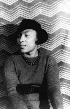 Zora Neale Hurston (1891-1960) Folklorist, anthropologist, Harlem Renaissance writer, author of Their Eyes Were Watching God