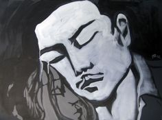 tango-052 - 2012 acrylic on canvas - cm 100X80
