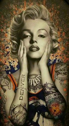 Tattoos Discover Marilyn all Tat out with DB Marilyn Monroe Tattoo Marilyn Monroe Kunst Marilyn Monroe Wallpaper Marilyn Monroe Photos Marilyn Monroe Drawing Denver Broncos Tattoo Broncos Fans Denver Broncos Images Broncos Memes Arte Marilyn Monroe, Marilyn Monroe Wallpaper, Marilyn Monroe Tattoo, Marilyn Monroe Photos, Marilyn Monroe Painting, Denver Broncos Tattoo, Broncos Fans, Denver Broncos Images, Broncos Memes