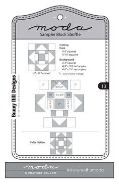 Bunny Hill Designs - Block 13