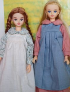 Laura and Mary Ingalls Dolls!!