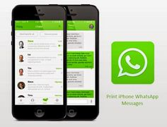 Two effective ways to help you print WhatsApp messages on iPhone 6/6 Plus/5S/5/4S.
