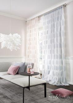 KRIPTON de SAUM #visillo #cortinas #cortines #geometric #vision #saum #ontario #fabrics