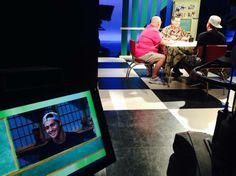 Behind the scenes at Leahey & Leahey during Makua Rothman's guest appearance aired on December 25th, 2013.