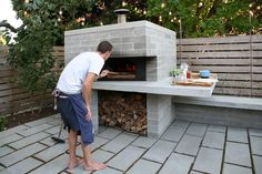 (notitle) Necessories Nonno Peppe 32 in. Wood Burning Outdoor Pizza Oven in Hammered Copper-Nonno Peppe - The Home Depot Creative Design Ideas For Your HomeOutdoor kitchen with pizza oven. Backyard outdoor kitchen with Pizza Oven