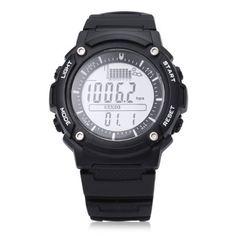 Unisex FR719A Digital Fishing Barometer Watch #women, #men, #hats, #watches, #belts