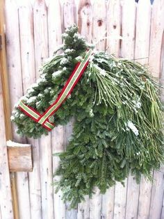 For hesteelskeren, Horse Wreath, I Love this.-For hesteelskeren, Horse Wreath, I … Christmas Horses, Country Christmas, All Things Christmas, Winter Christmas, Christmas Time, Vintage Christmas, Christmas Wreaths, Christmas Decorations, Xmas