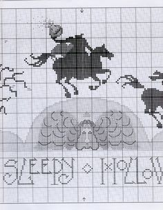 Sleepy Hollow • 5/7 Middle Chart – joins to RHS of 4/7 and LHS of 6/7