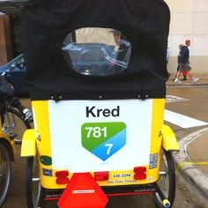Even pedi cabs have Kred.ly scores at SXSW :)