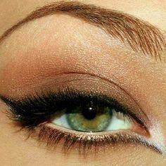 Eyeshadow makeup tips for green eyes