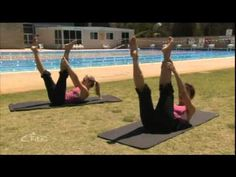Pilates, work that six pack - full 30 minutes - eFit30 - YouTube