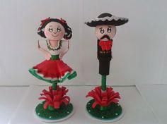 ideas de centros de mesa para fiesta mexicana - Google Search
