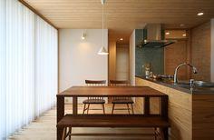愛知 瑞穂の家 ダイニングキッチン