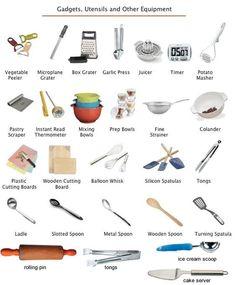 Resultado de imagen de cooking pots and pans names