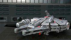 Star Wars 7965 Millenium Falcon™ (Сокол Тысячелетия)