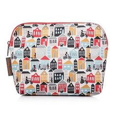 b322182d4e Nicky James Houses Canvas Toiletry Bag